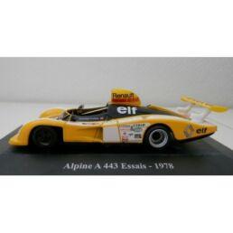 Alpine A 443 Essais 1978 1/43