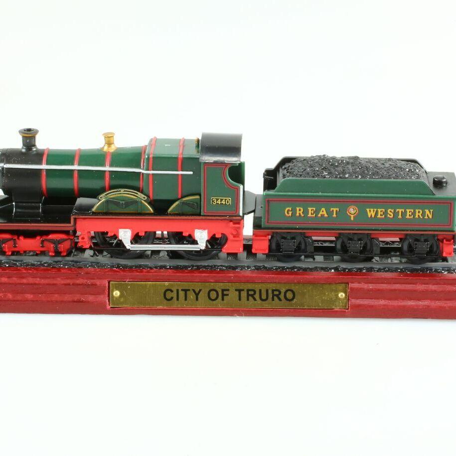 City of Truro 'Static Model Train', 1/100