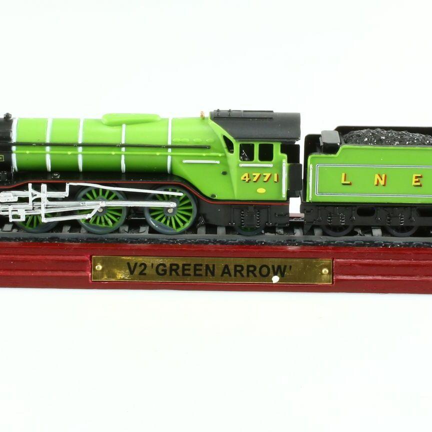 V2 Green Arrow 'Static Model Train', 1/100