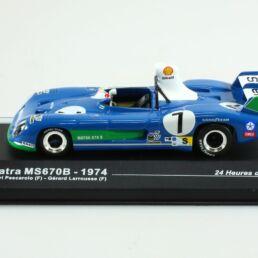 Matra MS670B, Henri Pescarolo - Gérard Larrousse, 24 Heures du Mans 1974 1/43