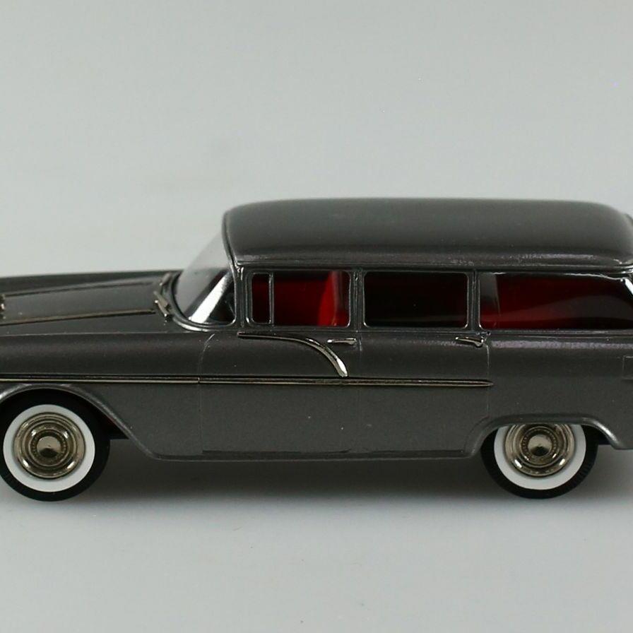 Pontiac Chieftain gris 1956 1/43