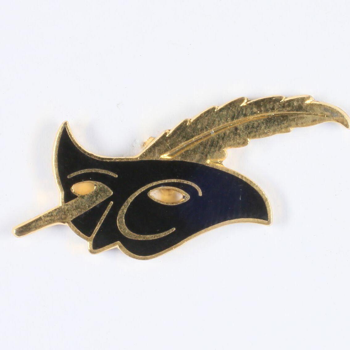 Le masque, logo de la collection