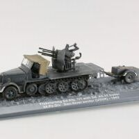 Char Flakvierling sd.Kfz. 7/1 with Sd.Ah.51 trailer 24 1/72