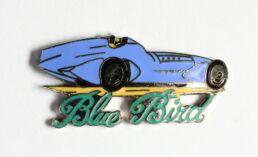 Voiture de course Blue Bird