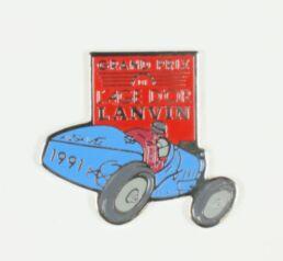 Grand prix de L'Age d'Or Lanvin 1991 - voiture bleue