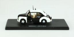Renault 4CV Police Blanche et noire 1/43