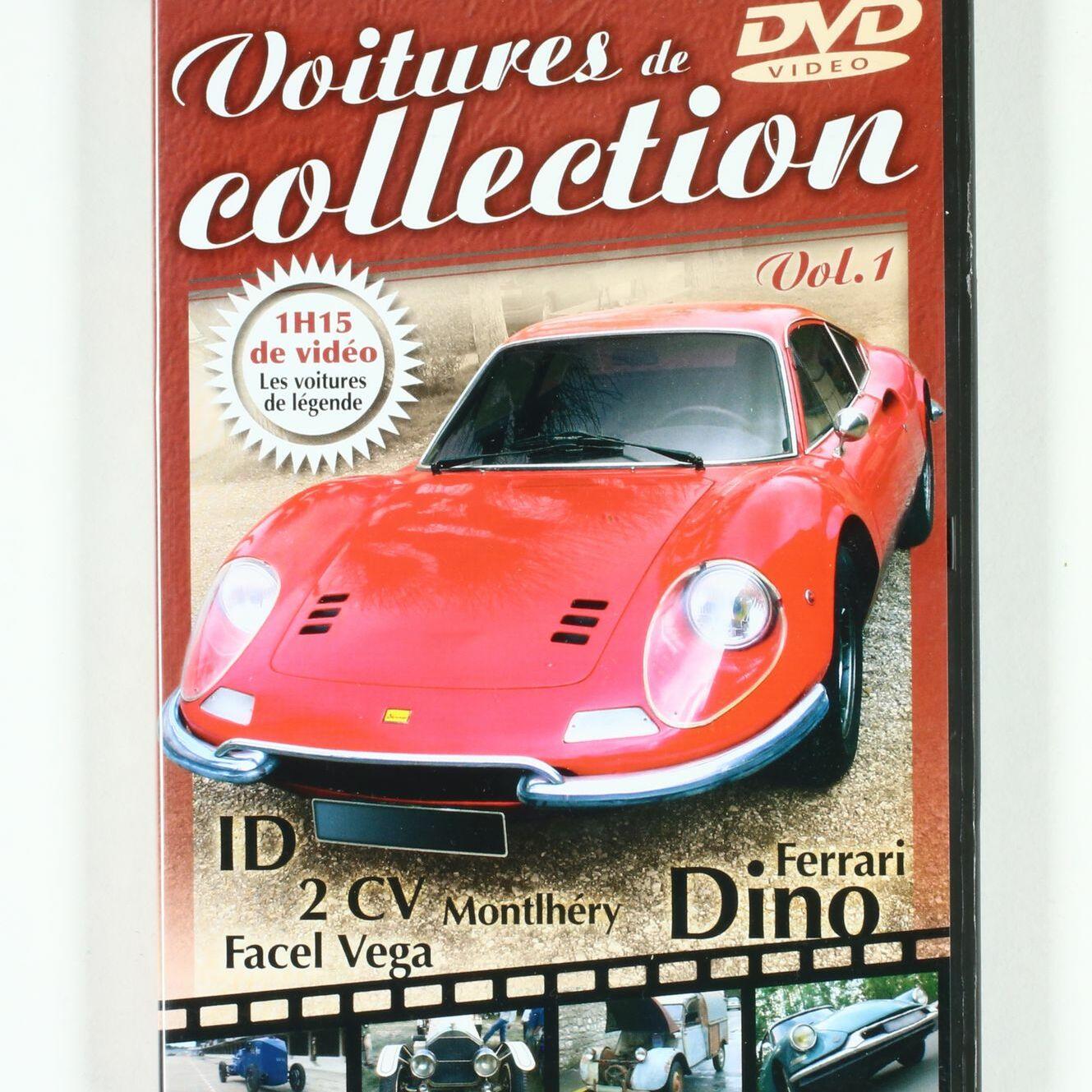 DVD Voitures de collection, Vol1