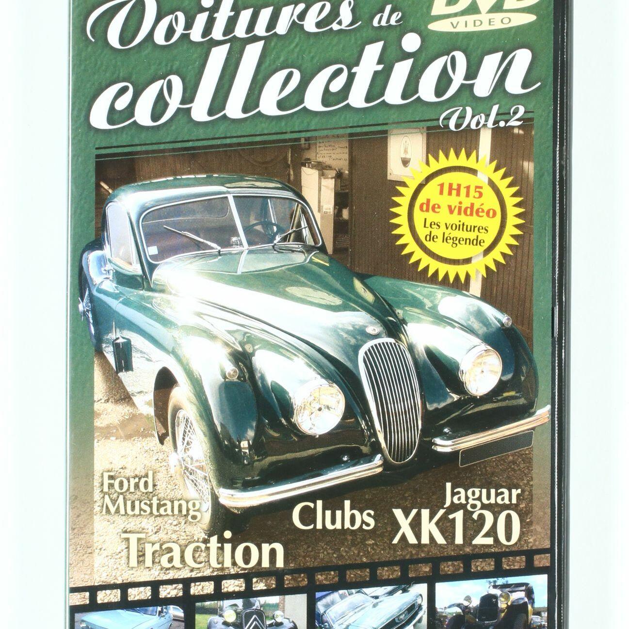 DVD Voitures de collection, Vol2
