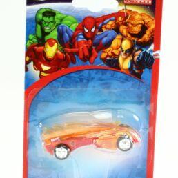 Les 4 fantastiques, voiture miniature La flamme version rouge, Marvel collection