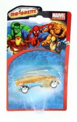 Les 4 fantastiques, voiture miniature La flamme version bleue, Marvel collection