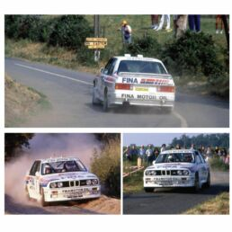 Décalcomanie pour miniature 1/43 BMW M3 - Ypres Rally 1989 - M. DUEZ - A.LOPES