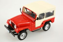 Jeep Willys CJ-5 1954-83 1/43