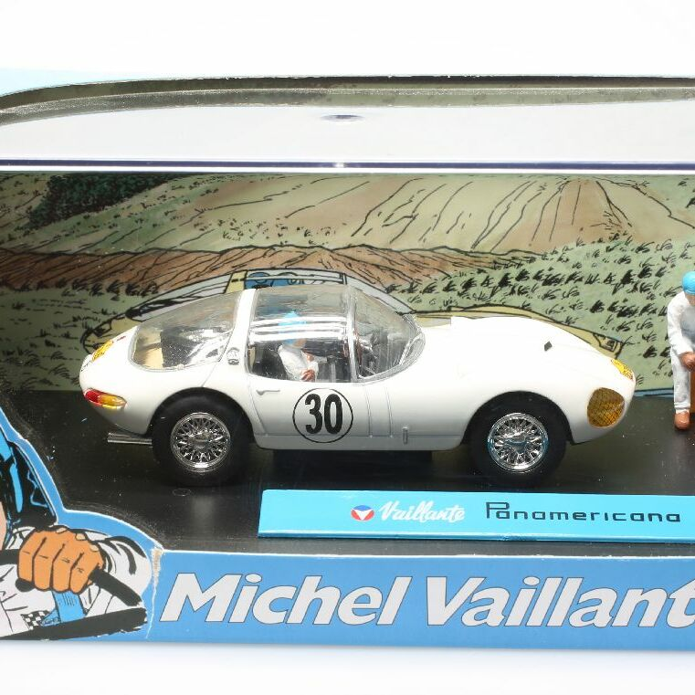 Diorama Bd Michel Vaillant, Panamericana n°30 1/43