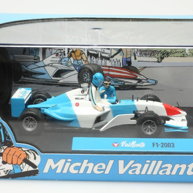 Diorama Bd Michel Vaillant, F1 - 2003 1/43