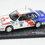 Mitsubishi Galant VR-4, Rac Rally 1989, P.Airikkala - R. McNamee 1/43