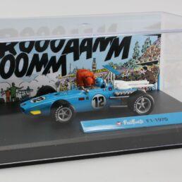 Diorama Bd Michel Vaillant, F1-1970 1/43