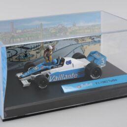 Diorama Bd Michel Vaillant, F1-1982 Turbo 1/43