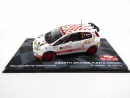 Abarth Grande Punto S2000 - G. Basso - M. Dotta - Rallye Monte-Carlo 2009 - 1/43