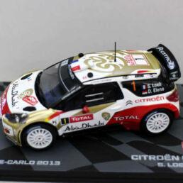 Citroën DS3 WRC - S. Loeb - D. Elena - Rallye Monte-Carlo 2013 - 1/43