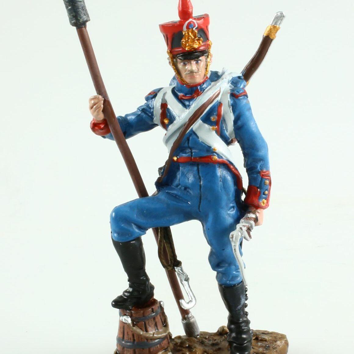 Figurine Canonnier, Artillerie à Pied - 1812, 1/32