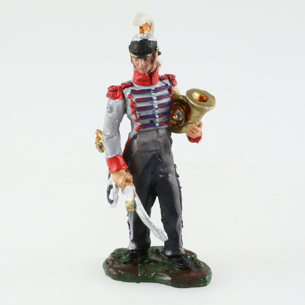 Figurine 5ème Régiment de Cuirassiers, Musicien, 1810 1/32