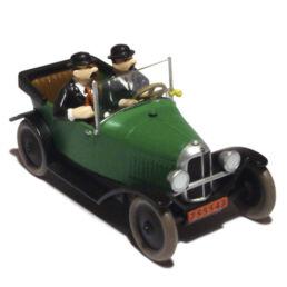 La Citroën 5 HP des Dupondt, 'Tintin au pays de l'Or Noir'