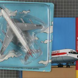 Qantas Boing 707 et Haddock, Vol 714 pour Sydney
