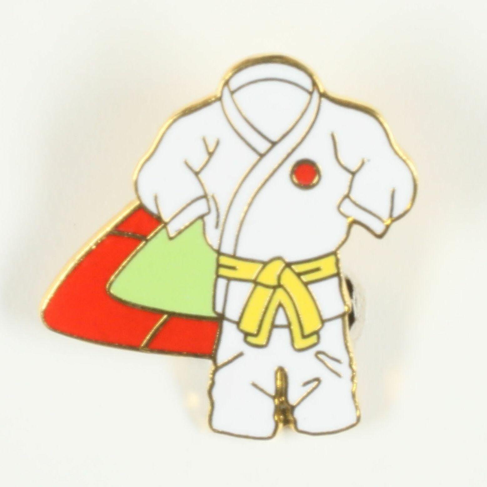 Kimono ceinture jaune