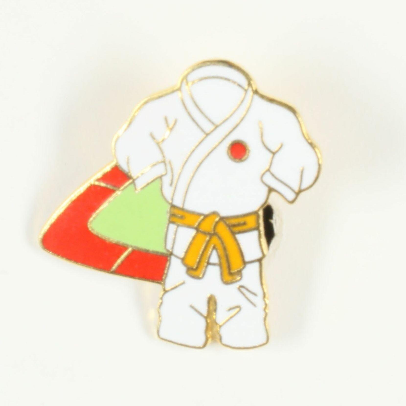 Kimono ceinture orange