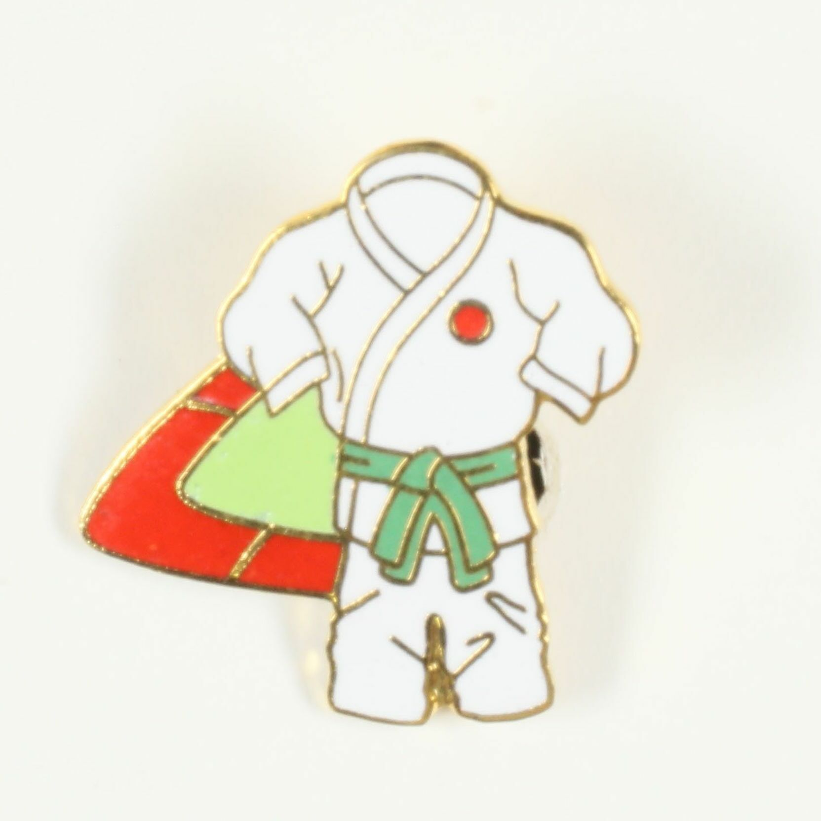 Kimono ceinture verte