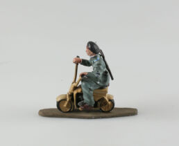Parachutiste, Bataillon Nembo sur son Aeromoto Volugrafo