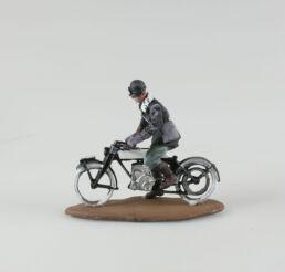 Motocycliste Italien, 1915 sur sa Rudge