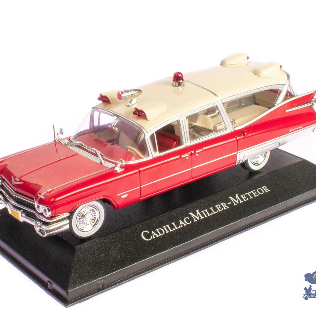 Ambulance, Cadillac Miller - Météor - 1959, 1/43